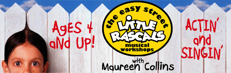 The Easy Stree Little Rascals Musical Workshops with Maureen Collins