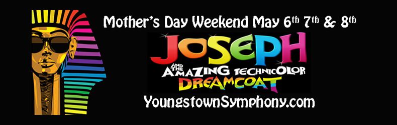 Joseph and the Amazing Technicolor Dreamcoat May 6-8, 2016
